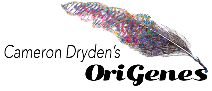 Cameron Dryden's OriGenes, where stories come from, and where they go